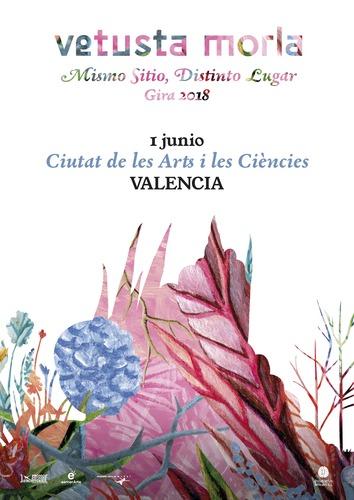Vetusta morla llega a valencia con su gira Mismo Sitio, Distinto Lugar