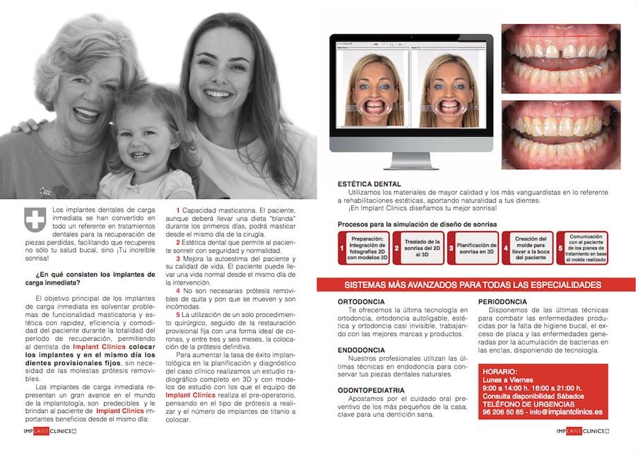Clínica Dental Implant Clinics. Clínica dental de referencia en Valencia. Especialistas en implantes dentales inmediatos.