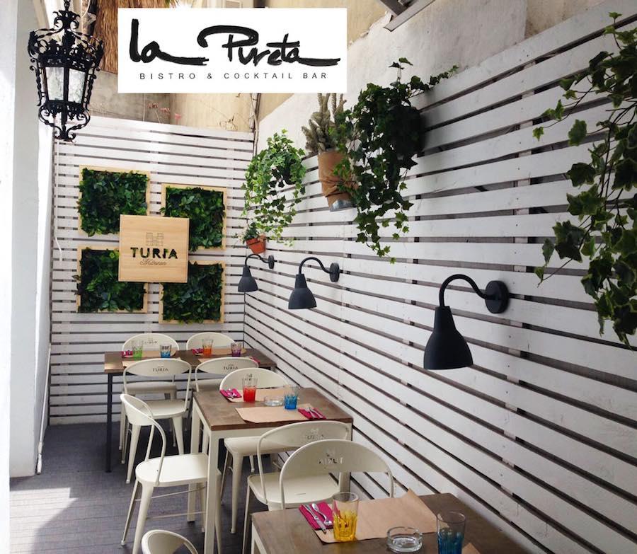 La pureta Bistro para tus cenas y comidas en la ciudad de Valencia
