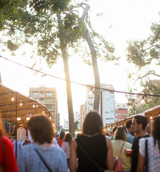 El espíritu del palo market fest más alternativo llega a Valencia