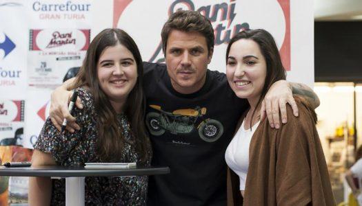 Dani Martin firma de discos en Valencia