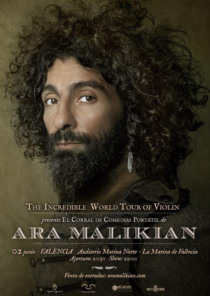 Ara Malikian concierto en Marina Norte, en Valencia