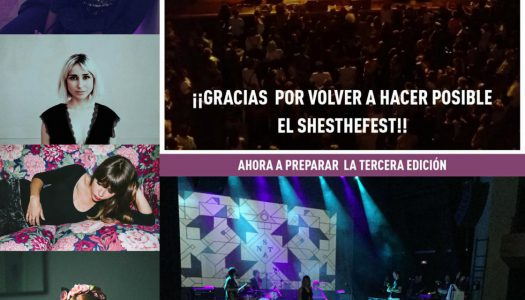 She's The Fest ¡impresiones!