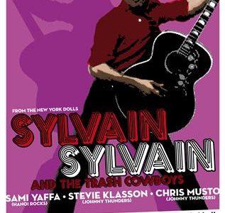 Sylvain Sylvain en Loco Club, mítico líder de New York Dolls