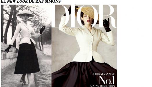 El New Look de Raf Simons