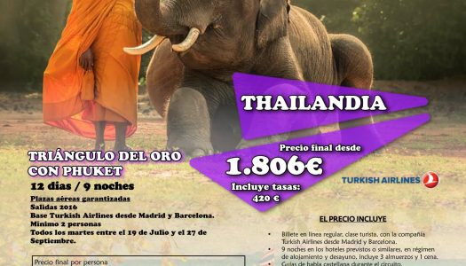 Viaje a Tailandia con Viajes Globus… ¡nunca fue tan fácil!