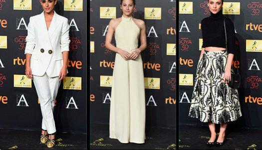 El estilo en la cena de los nominados a los Premios Goya 2016