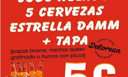 ¡Disfruta de la fiesta ambientada en los 50 en Delorean Lounge Ruzafa!