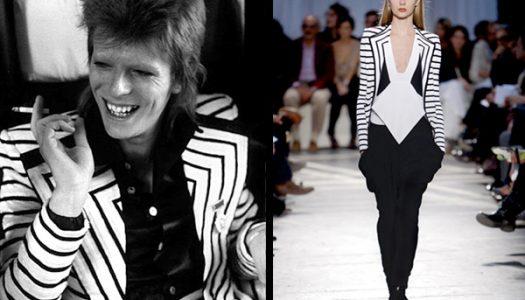 David Bowie, tanto artista como inspiración