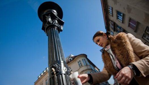 ¡La primera fuente pública de CERVEZA se inaugura en Eslovenia!
