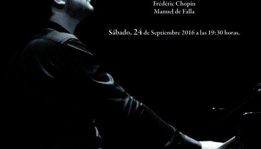 Rubén Talón actúa el 24 de septiembre en el Palau de la Música