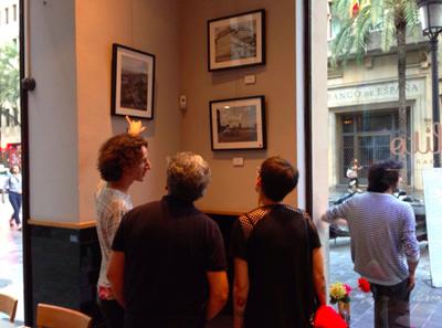 Nacho Errando expuso en Lotelito su obra fotográfica en homenaje a La Habana