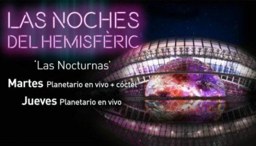 L'Hemisfèric y la inmensidad del universo