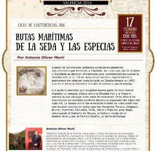 Nueva Conferencia de la Ruta de la Seda en Valencia