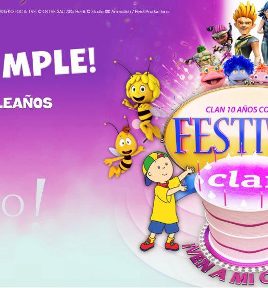 Festival Clan Ven a mi cumple Valencia