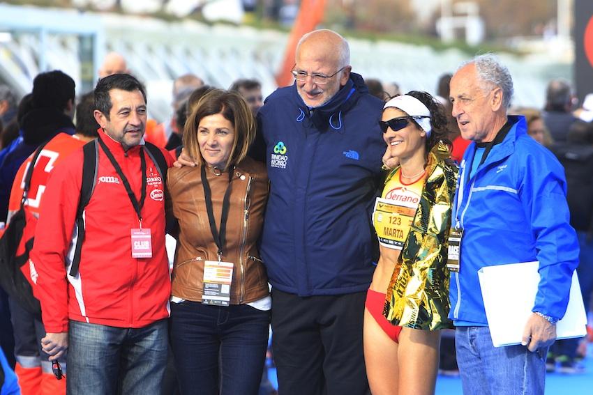 Maratón Valencia Marta Esteban