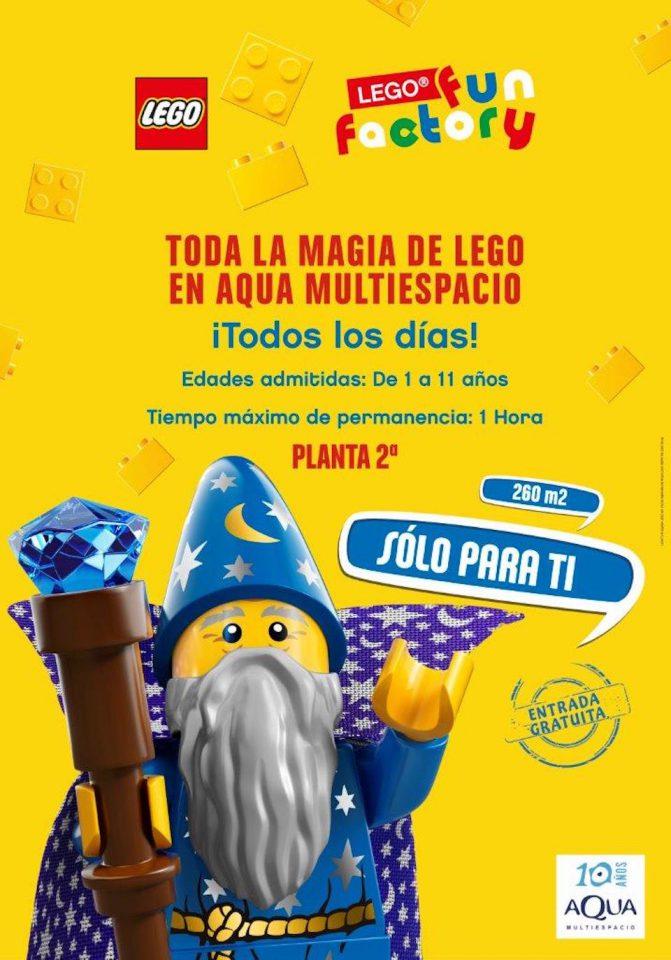 Lego Fun Factory en Aqua