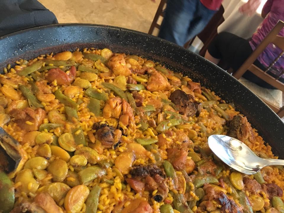 Restaurante Levante, paella valenciana