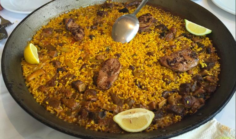sitios para comer paella en valencia