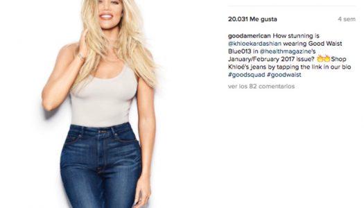 Los nuevos jeans de Khloé Kardashian