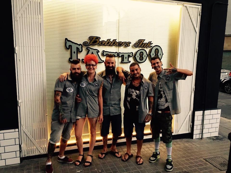 El equipo de Bobberks ink