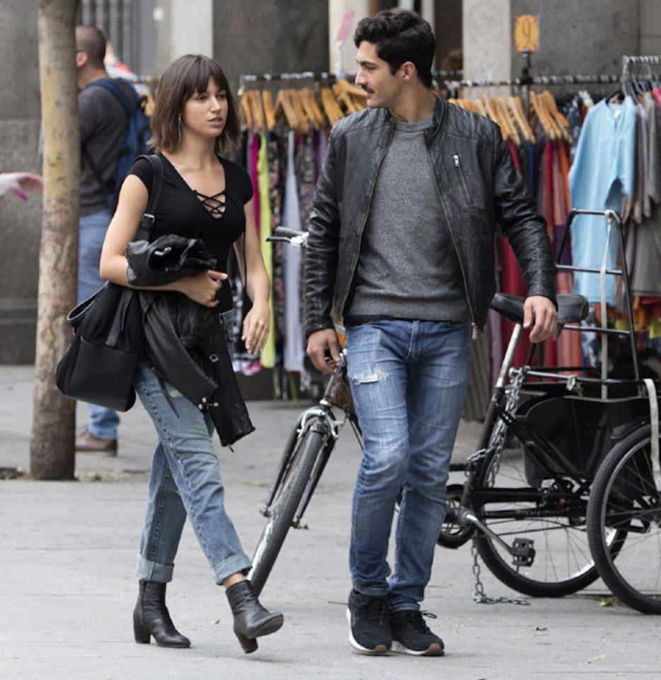 Chino Darin y Úrsula Corberó