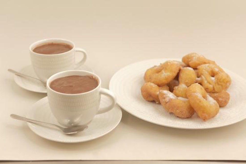 chocolate con churros en Valencia