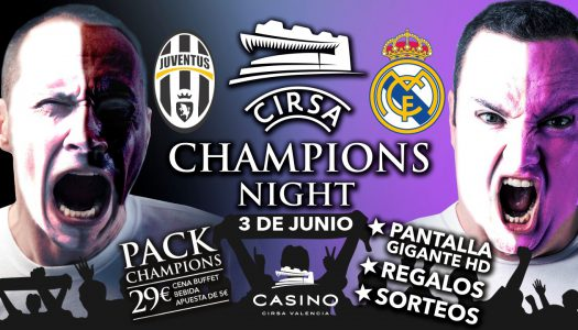 Vive la final de la Champions League con David Albelda en Casino Cirsa Valencia
