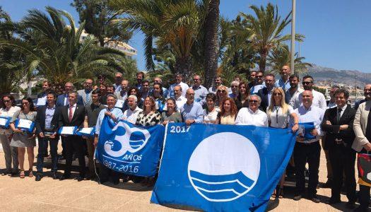 """Las playas de Oliva ondearán las banderas """"Qualitur"""""""
