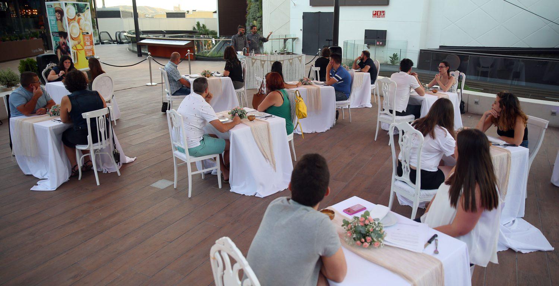 Cenas Románticas de las Terrazas de Bonaire