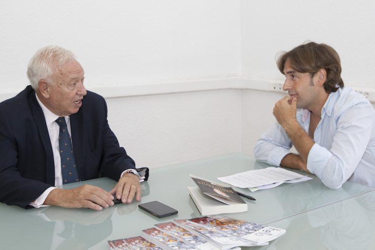 Toni Vivó entrevista al ex ministro García Margallo