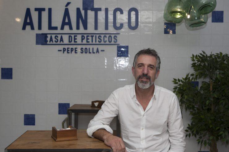 Pepe Solla. Atlántico Casa de Petiscos