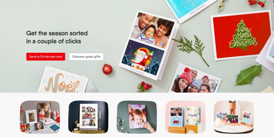 Web felicitaciones de Navidad
