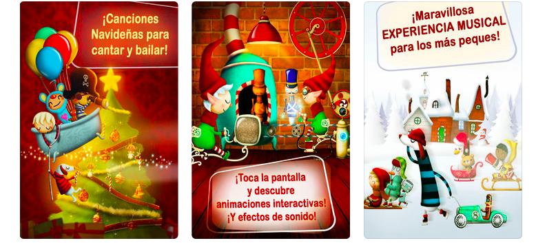 Aplicación villancicos, felicitaciones de Navidad