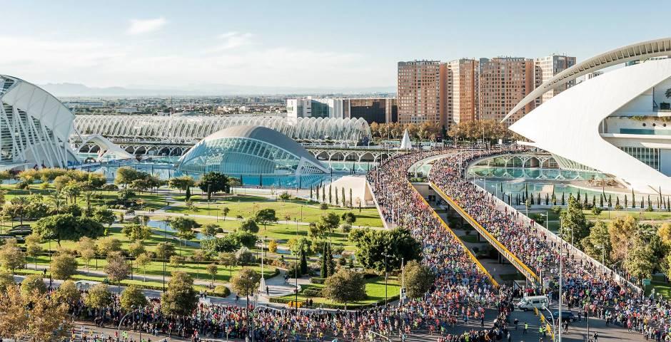 El Medio Maratón y Maratón Valencia Cambian sus recorridos