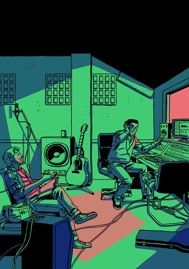 la encruzijada mezcla comic y música