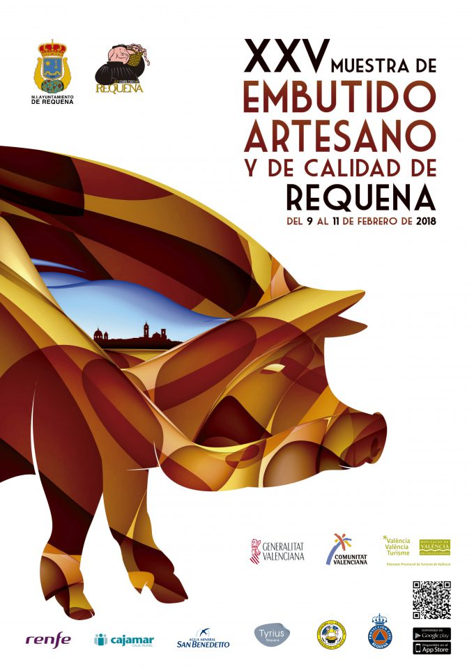 CARTEL EMBUTIDO REQUENA 2018