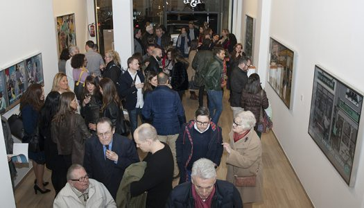 """Inauguración de la exposición """"Looking-Off"""" de Virginia Kelle"""