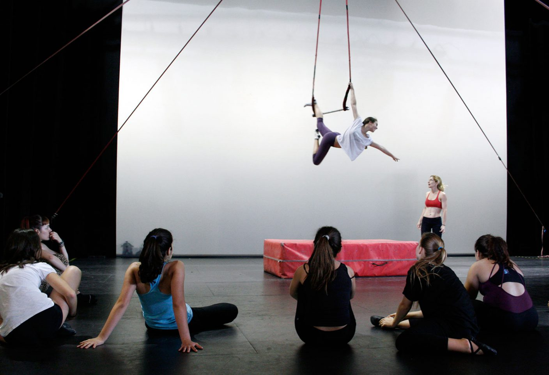 Escuela de circo gan Fele