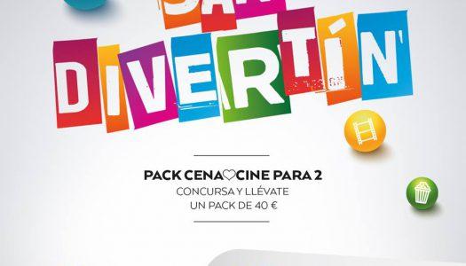 Concurso SanDivertín para ganar un pack cena&cine en MN4