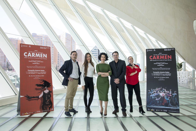 Carmen en el Palau de les Arts Reina Sofia
