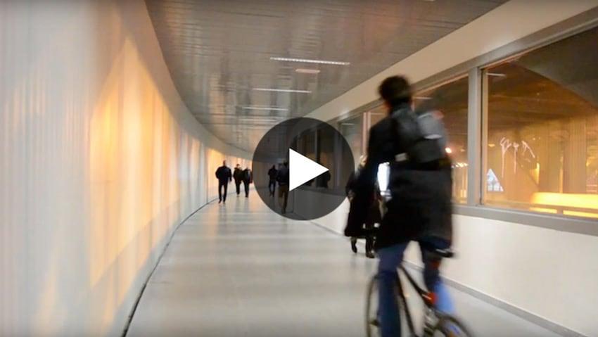 Nuevo paso peatonal túnel Gran Vía