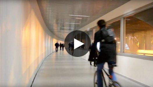 Nuevo paso peatonal del túnel de la Gran Vía de Valencia