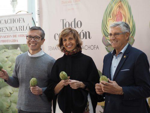 todo corazón, semana gastronomica de la alcachofa en el Mercado de Colón