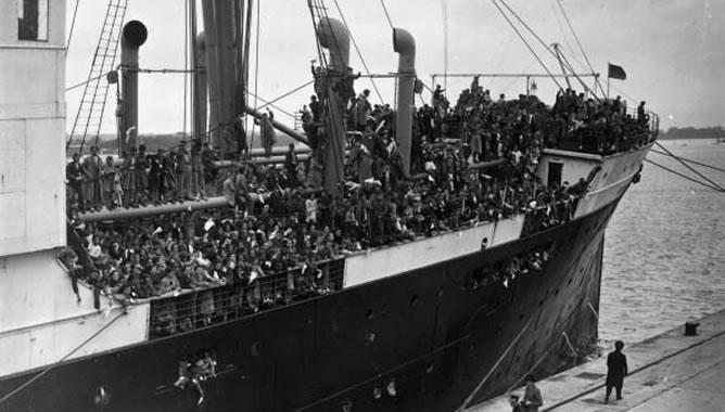 Durante la Guerra Civil Española, 72 niños embarcaron en el puerto de Valencia rumbo a Moscú