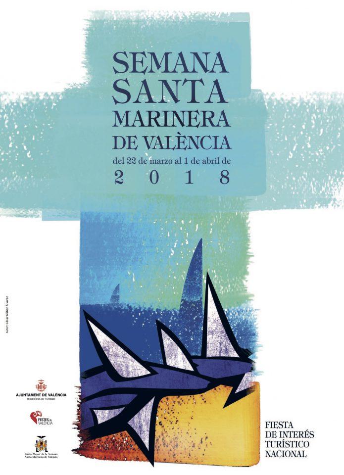 Cartel Semana Santa Marinera de València 2018