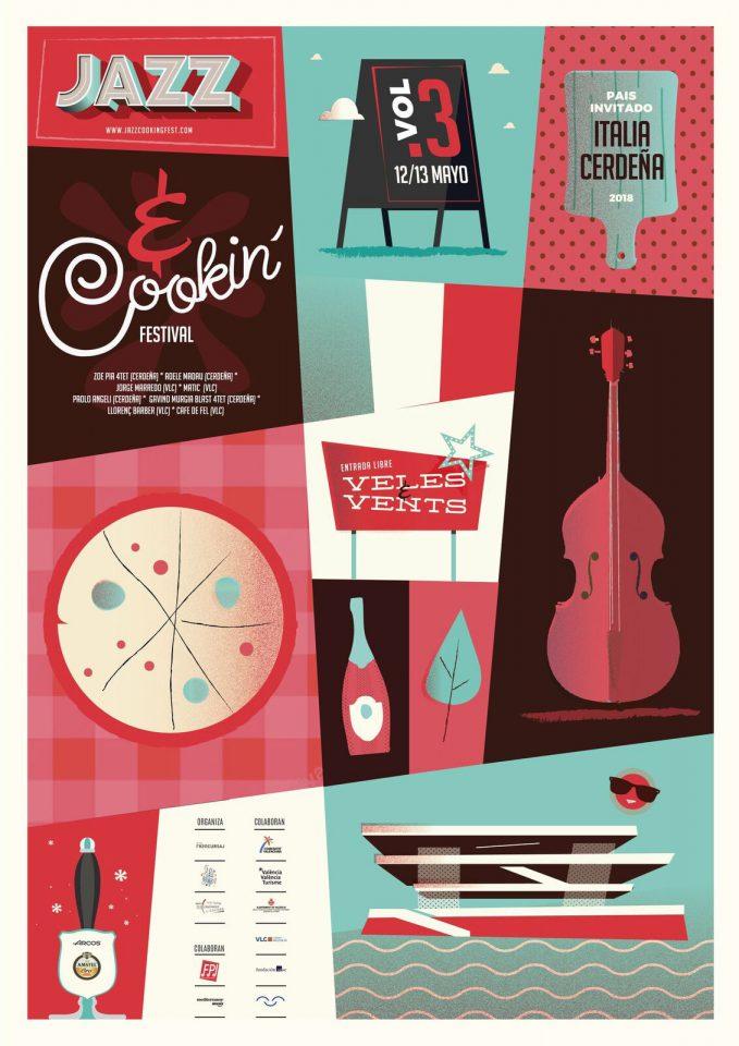 Cartel festival Jazz&Cookin'