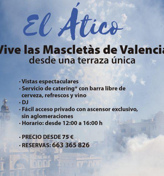 el mejor sitio donde ver la masceltà en Valencia