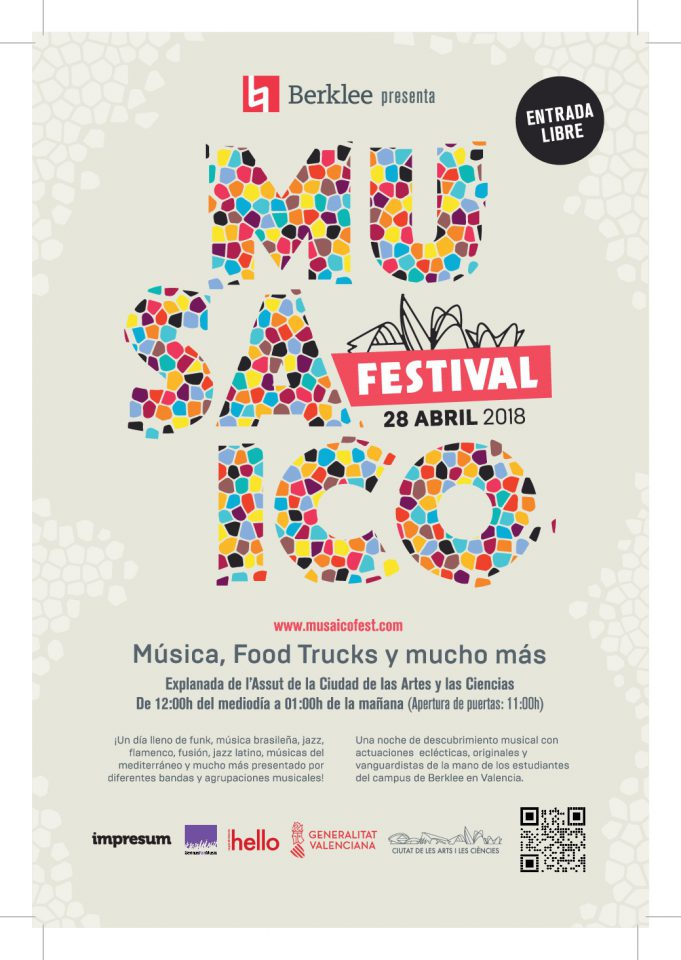 Berklee presenta Musaico Festival 2018