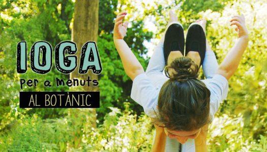 Yoga para los más pequeños en el Jardín Botánico